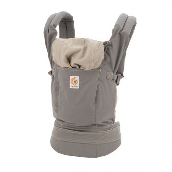 "Эргорюкзак Ergo Baby Carrier ""Xtra Grey - Серый"" серия ""Original"""