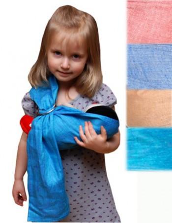 """Детский игрушечный слинг на кольцах ТМ """"Ехидна"""""""