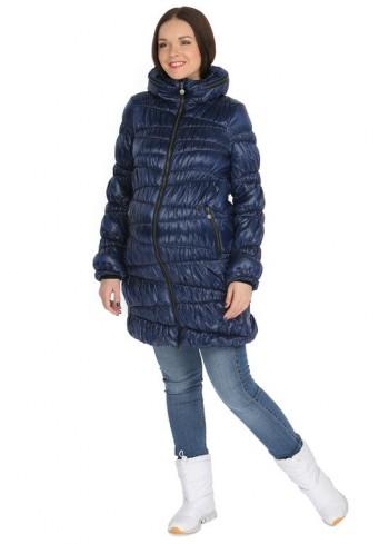 """Куртка демисезонная 2в1 """"Синти"""" темно синяя для беременных"""