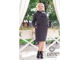 Слингопальто демисезонное 4 в 1 Antracite Diva Outerwear