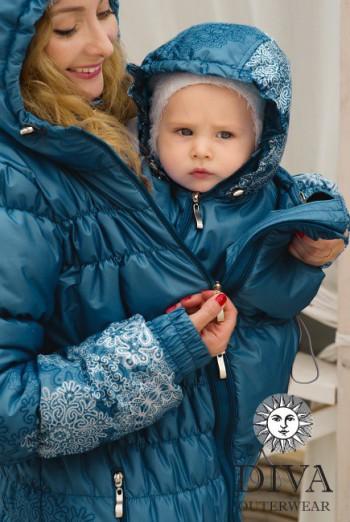 Слингокуртка зимняя Azzurro 3в1 Diva Outerwear