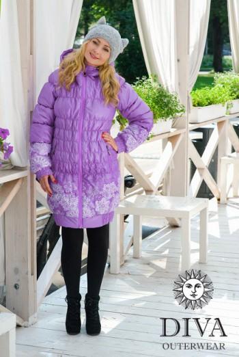 Слингокуртка зимняя Lavanda 3в1 Diva Outerwear