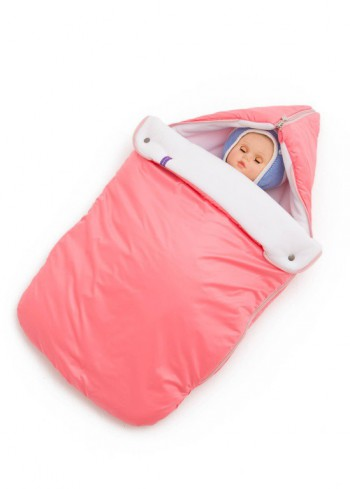 """Конверт зимний на выписку """"Умка"""" розовый для новорожденного"""