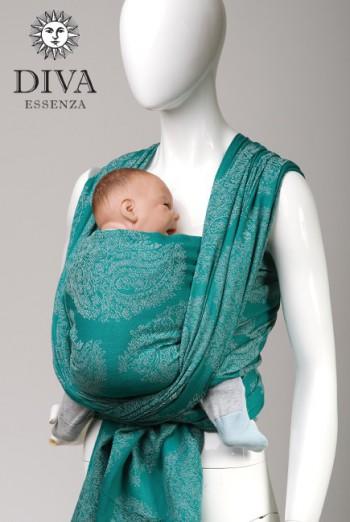 Слинг-шарф Diva Essenza, Smeraldo с бамбуком