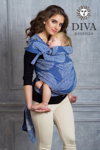 Май-слинг от 6 мес Diva Essenza Azzurro Toddler