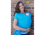 Трикотажный слинг-шарф Boba Wrap расцветка Turquoise
