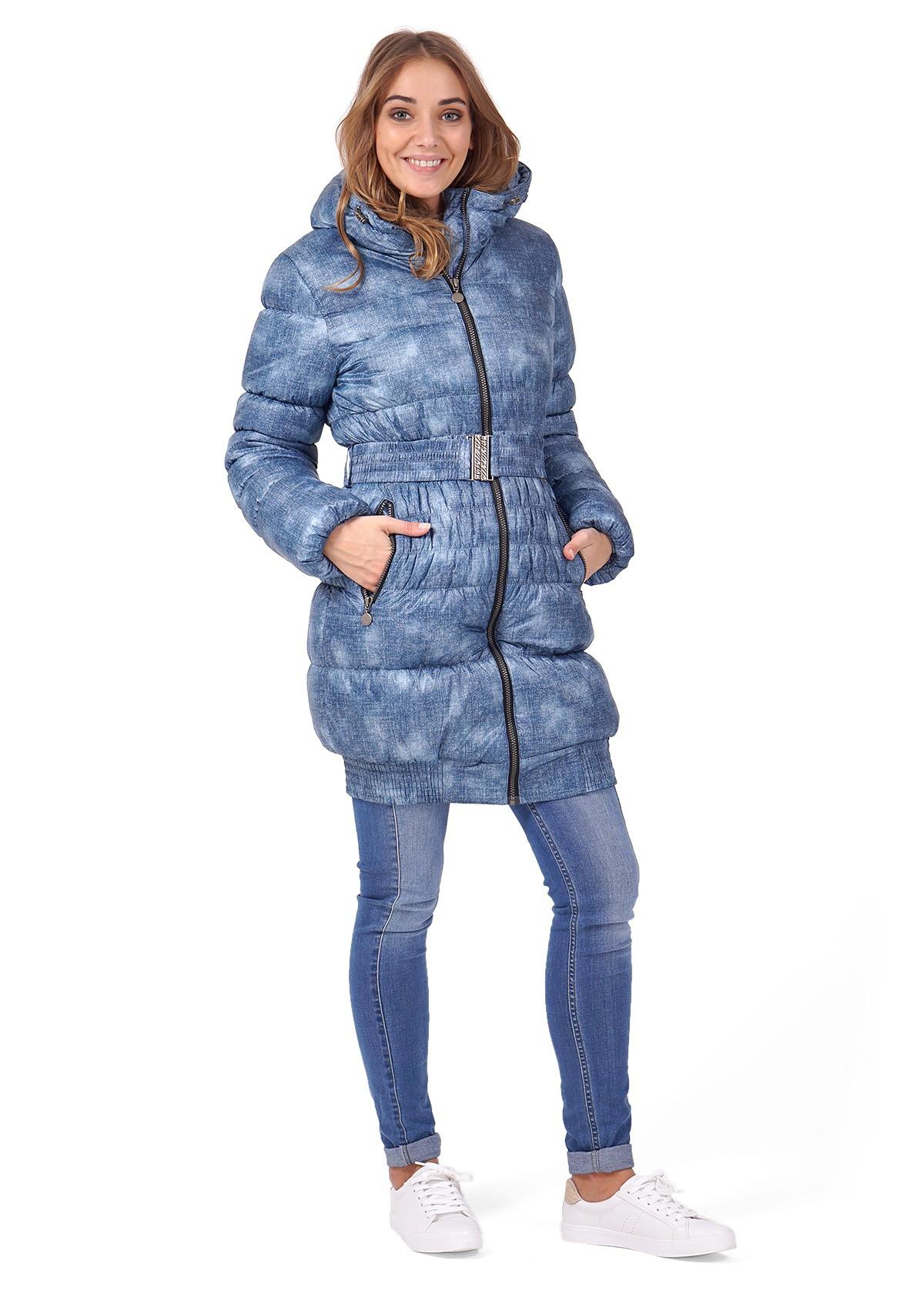Куртка 2в1 зимняя Юта джинса для беременных ТМ I Love Mum