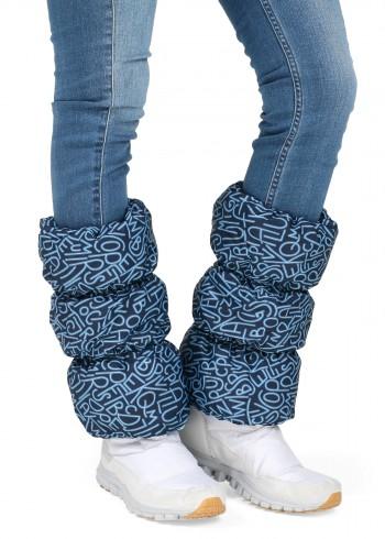 Краги для обуви буквы на синем