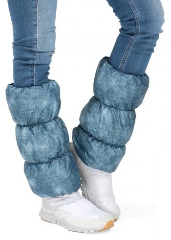 Краги для обуви джинс