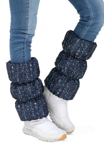 Краги для обуви синий твид