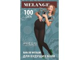 Колготки для беременных Melange 100, fumo (темно-серый)