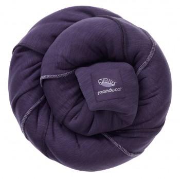 Трикотажный слинг-шарф Manduca, purple (фиолетовый)