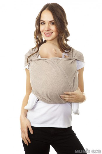 "Слинг-шарф ""Нидл"", латте (5.2 м)"