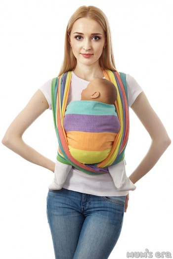 "Слинг-шарф ""Нидл"", радуга (4.7 м)"