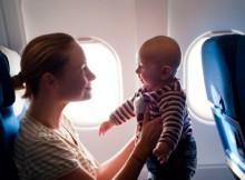 Путешествия самолетом с маленькими детьми