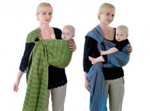 Слинг для новорожденного: с кольцами или слинг-шарф? Как выбрать?