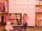 Детская одежда и порядок в шкафу