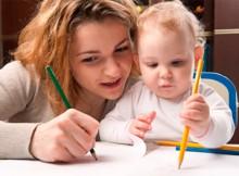 Занятие на стимулирование физического развития ребенка 11-ти месяцев