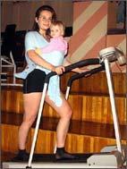 Фитнес со слингом