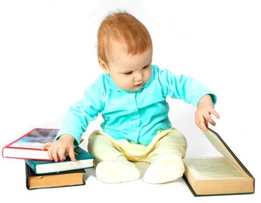 Малыш и книги
