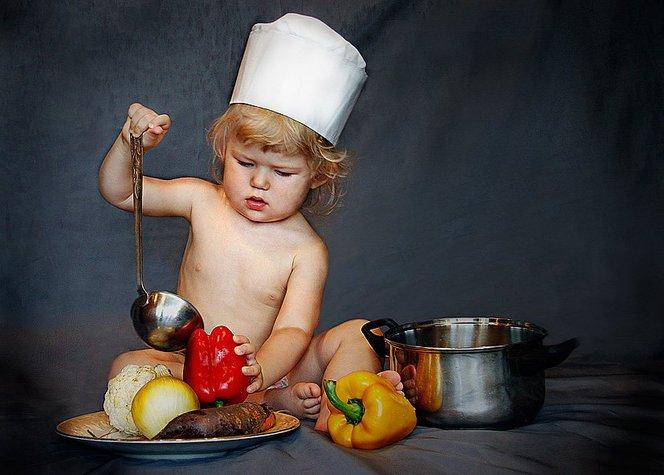 Занятие на стимулирование физического развития ребенка 8-ми месяцев