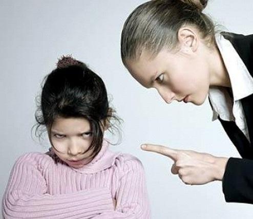 негативное воспитание
