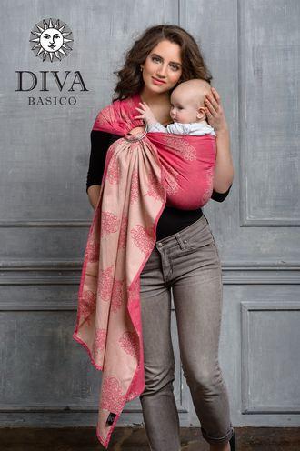 Слинг с кольцами Diva Basico Amore