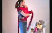 Видео-инструкция к май-слингу, положение лицом к маме