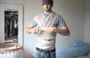 Завязать слинг-шарф? легко!