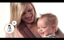 Как носить малыша на бедре в рюкзачке ErgoBaby