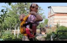 Эргономичный рюкзак за спиной - регулируем стропы