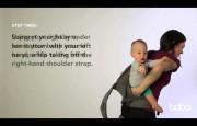 Как правильно вынимать малыша из Boba Carrier за спиной