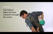 Видео-инструкция по ношению Boba Carrier сзади