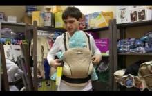 Обзор эргономичного рюкзака Manduca от молодого человека:)