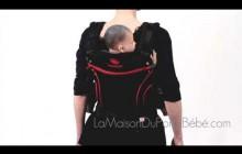 Демонстрация рюкзачка Manduca - BlackLine Red