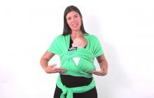 Варианты переноски ребенка в Слинг-шарфе Boba Wrap