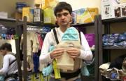 Накладки для сосания к рюкзаку Manduca